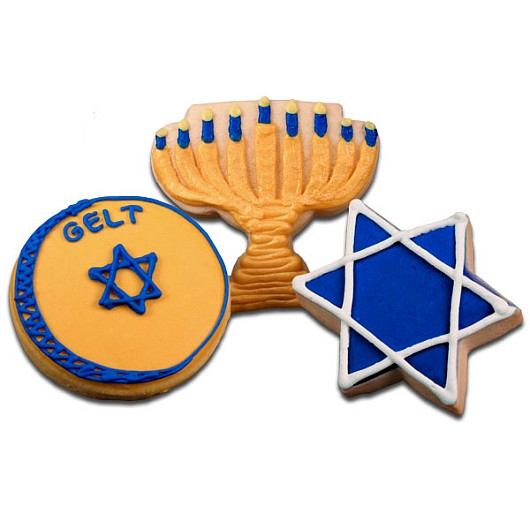 Hanukkah Cookie Favors