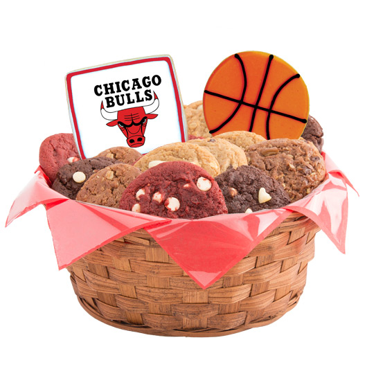 Pro Cookie Basketball Cookie Basket - Chicago