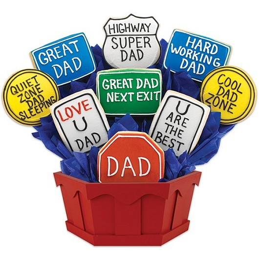 Dad Appreciation Highway Cookie Bouquet