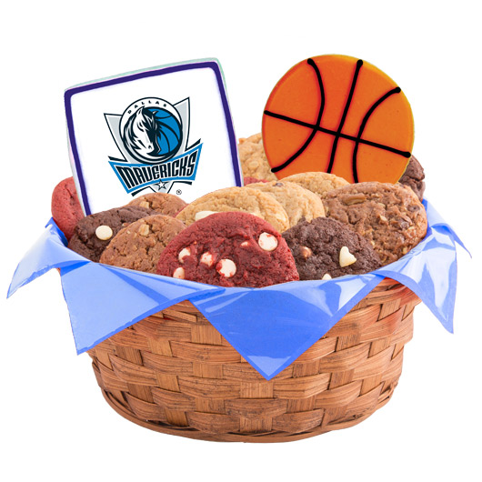 Pro Cookie Basketball Cookie Basket - Dallas