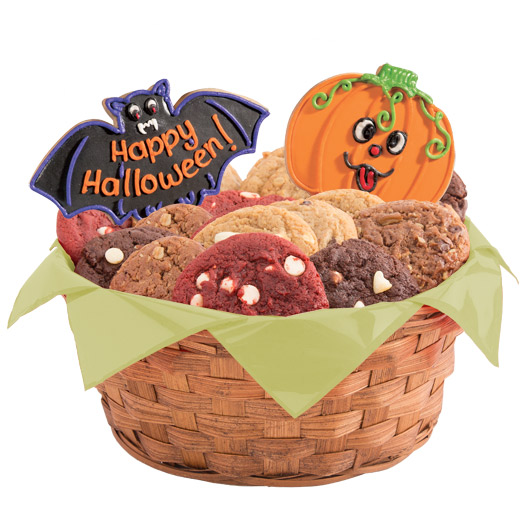 Halloween Cookie Basket