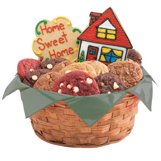 Houses Cookie Basket
