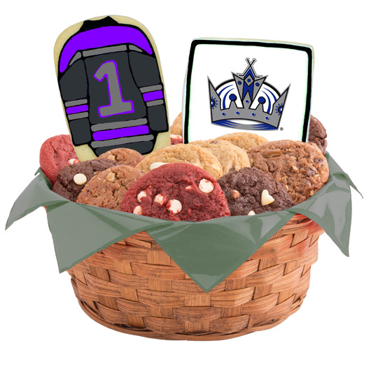 Hockey Cookie Basket - Los Angeles