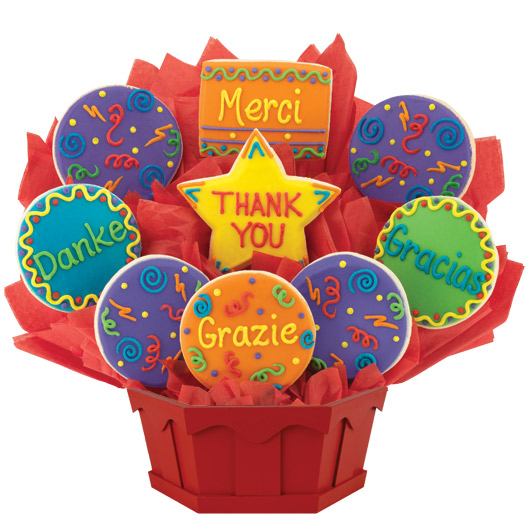 Many Thanks Cookie Bouquet
