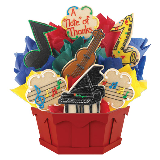 Music Cookie Bouquet