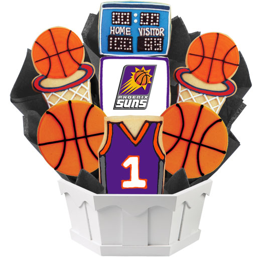 Pro Basketball Bouquet - Phoenix Cookie Bouquet