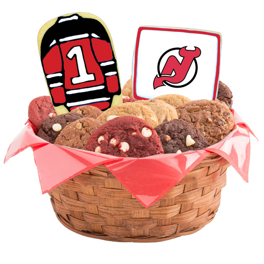 Hockey Cookie Basket - New Jersey