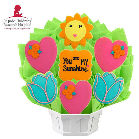 St. Jude Mother's Day Sunshine Cookie Bouquet