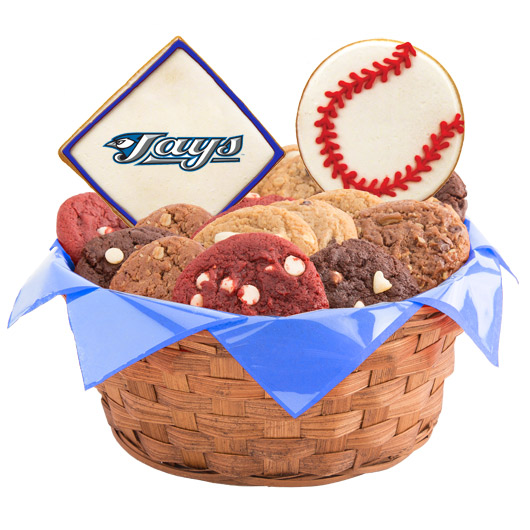 MLB Cookie Basket - Toronto Bluejays