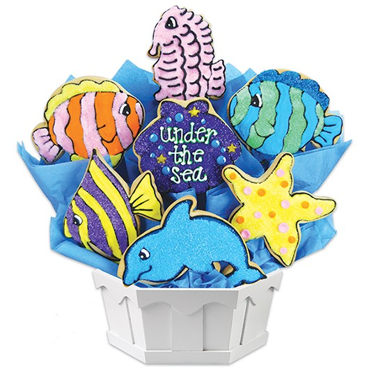 Under The Sea Cookie Bouquet