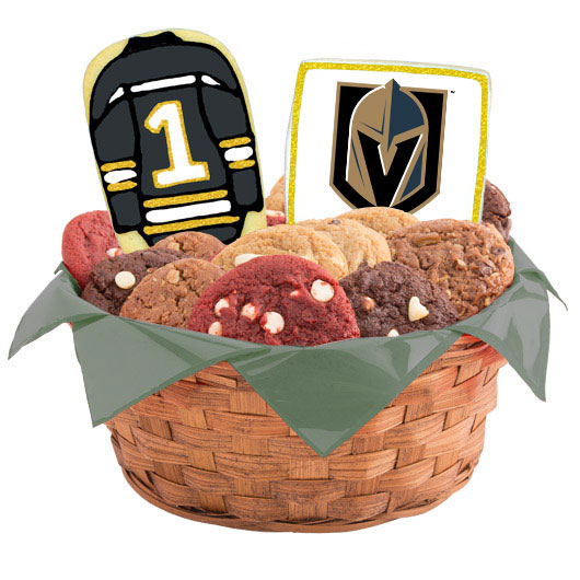 Hockey Cookie Basket - Vegas