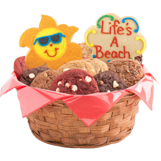Beach Cookie Basket