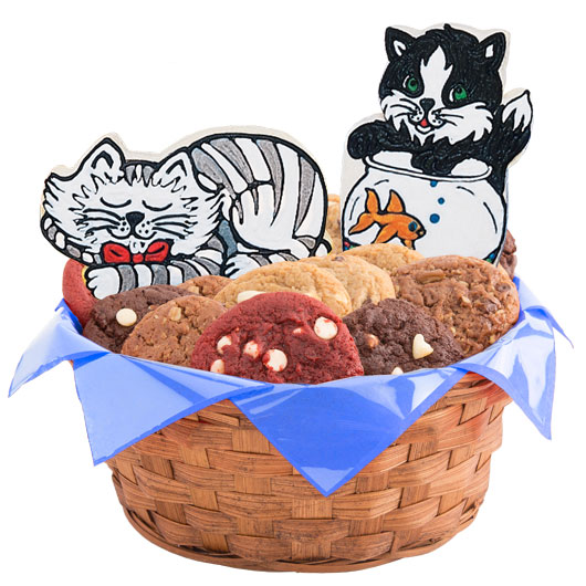 The Cat's Meow Cookie Basket