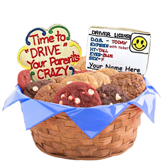 Drive Your Parents Crazy Cookie Basket
