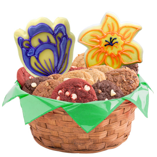 Spring Blossoms Cookie Basket