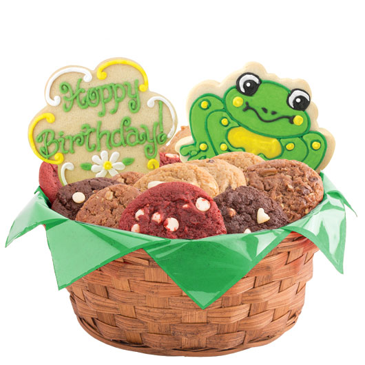 Hoppy Birthday Cookie Basket