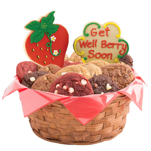 Get Well Berry Soon Cookie Basket