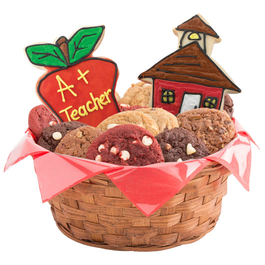 Kool School Kids Cookie Basket