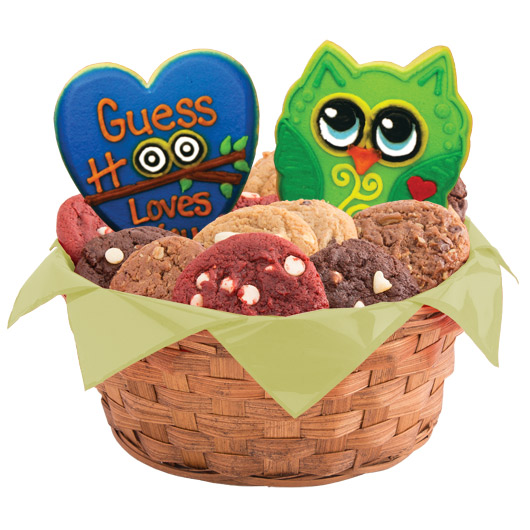 Birthday Hoot Cookie Basket