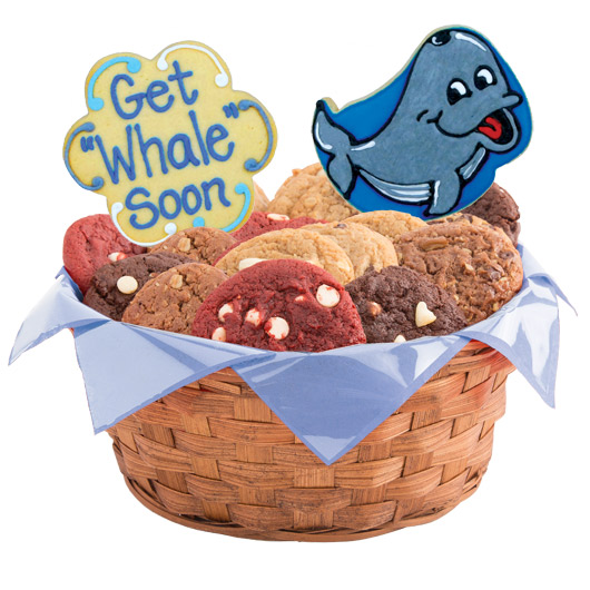 Get Whale Soon Cookie Basket