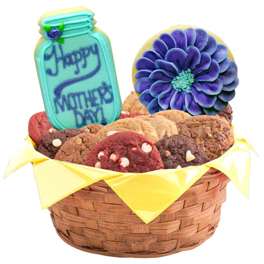 Flowers for Mom Cookie Basket