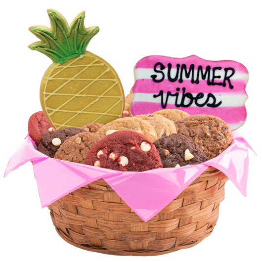 Summer Vibes Cookie Basket