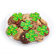TRY33 - St. Patrick's Day Cookie Tray