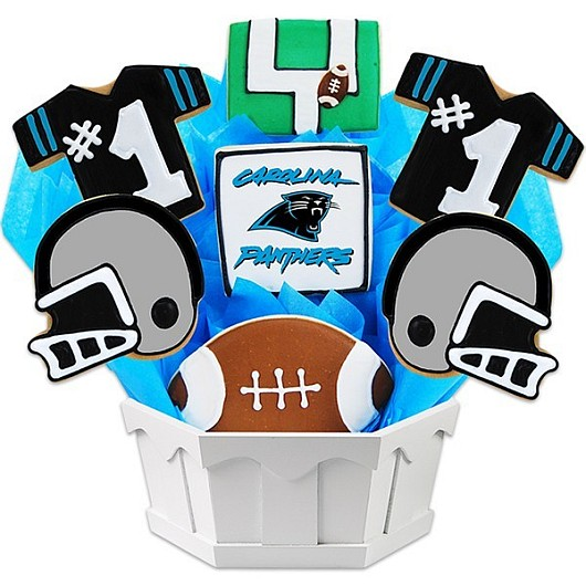 Football Bouquet - Carolina Cookie Bouquet
