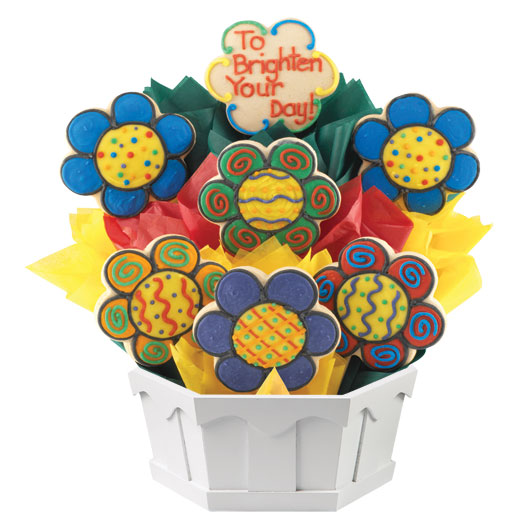 Dizzy Daisies Cookie Bouquet