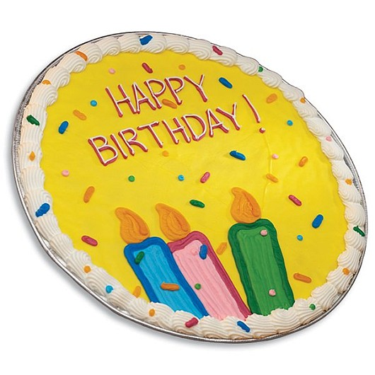 Strange Iced Birthday Cookie Cake Cookie Cake Delivery Cookies By Design Personalised Birthday Cards Veneteletsinfo