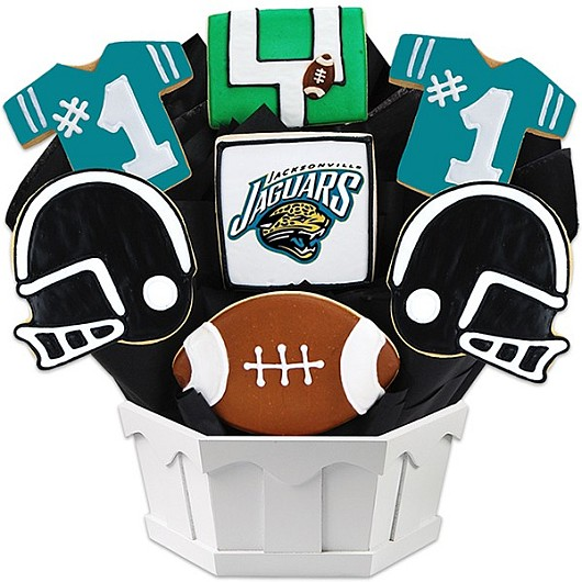 Football Bouquet - Jacksonville Cookie Bouquet