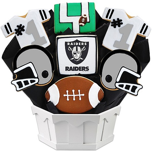 Football Bouquet - Oakland Cookie Bouquet