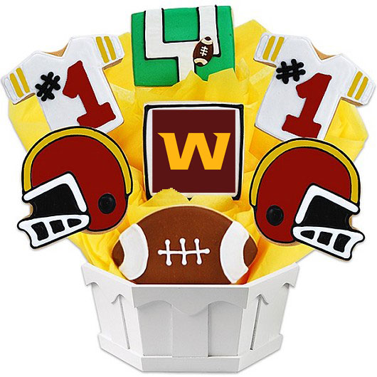 Football Bouquet - Washington Cookie Bouquet