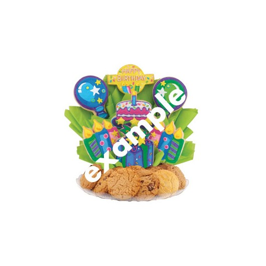 Wild Zoo Birthday Gourmet Gift Basket