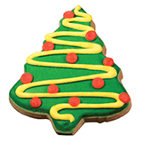 CFC4 - Christmas Tree Cookie Favors