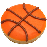 CFG28 - Sports Basketball Cookie Favors
