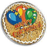 PC16 - Birthday Balloons Cookie Cake