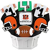 NFL1-CIN - Football Bouquet - Cincinnati