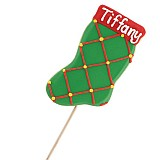 IDC68 - Personalized Checkered Stocking