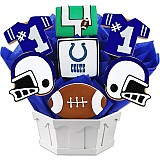 NFL1-IND - Football Bouquet - Indianapolis