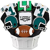 NFL1-PHI - Football Bouquet - Philadelphia
