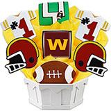 NFL1-WAS - Football Bouquet - Washington
