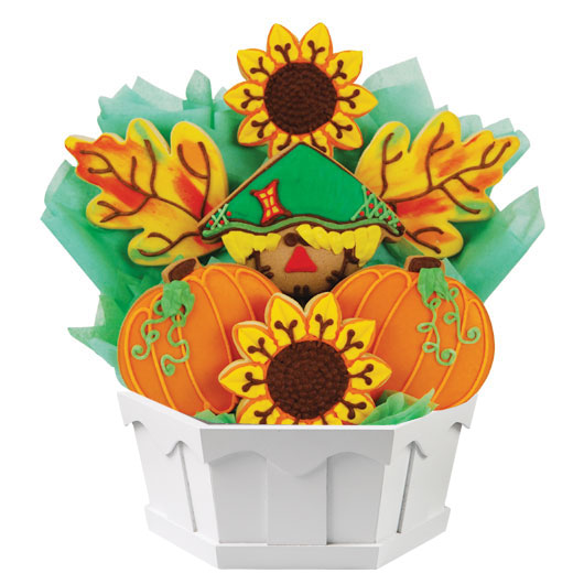 Harvest Happiness Cookie Bouquet