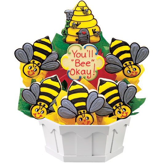 Bees Cookie Bouquet