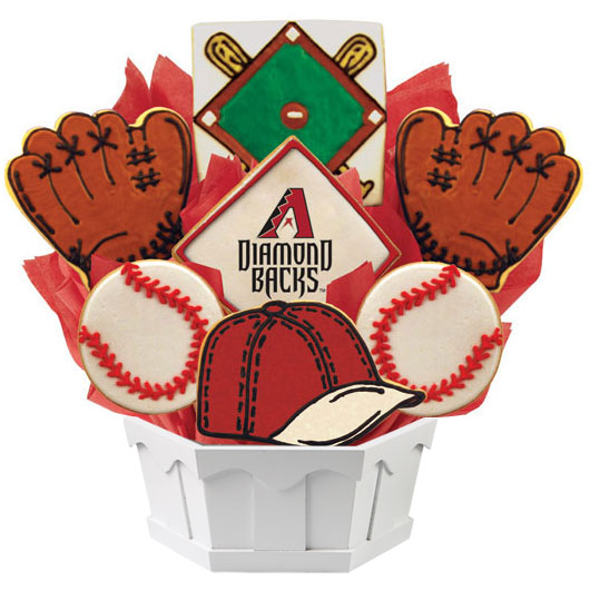 MLB Bouquet - Arizona Diamondbacks Cookie Bouquet