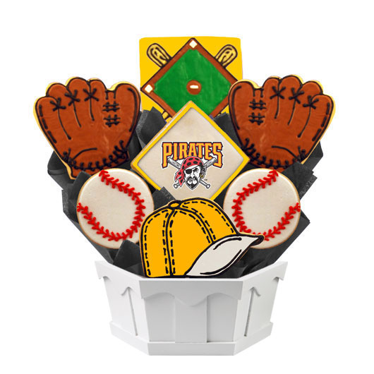 MLB Bouquet - Pittsburgh Pirates Cookie Bouquet