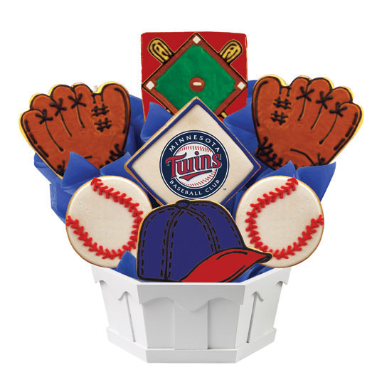 MLB Bouquet - Minnesota Twins Cookie Bouquet
