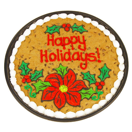 Holiday Cookie Cake Chocolate Chip Cookie Cake Cookies