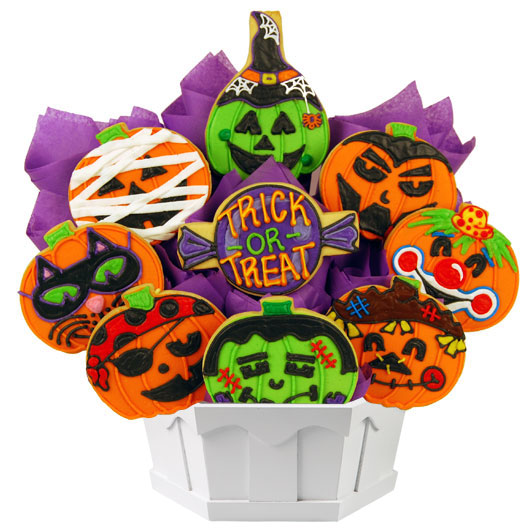 Pumpkin Bash Cookie Bouquet