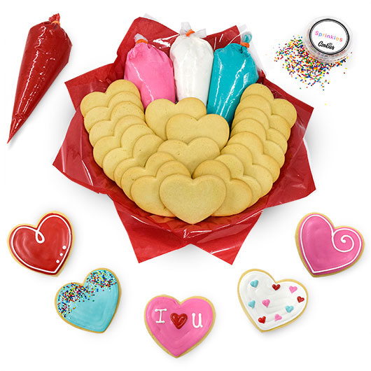 Cookie Decorating Kit Valentines Gift For Kids Cookies By Design